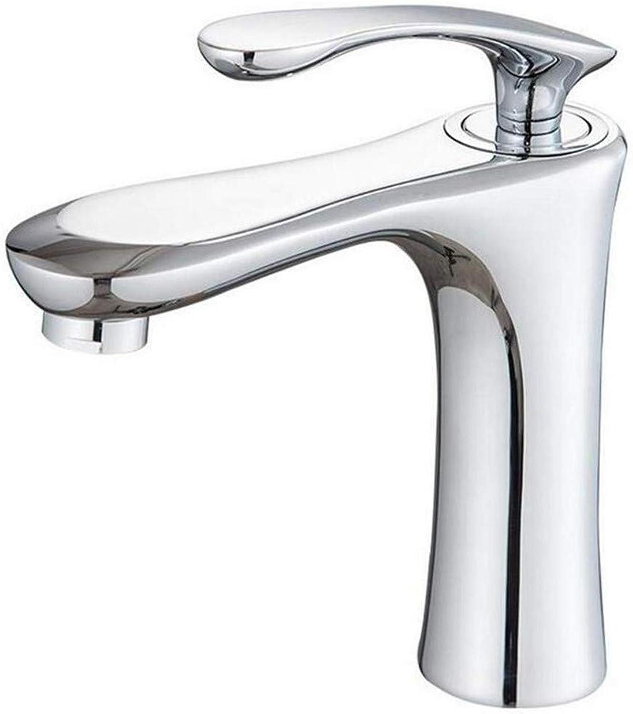 Faucet Vintage Brass Chrome Chrome Sink Washbasin Faucet Single Lever Mixer Bath Mixer Mixer Tap Sink Faucet Bathroom