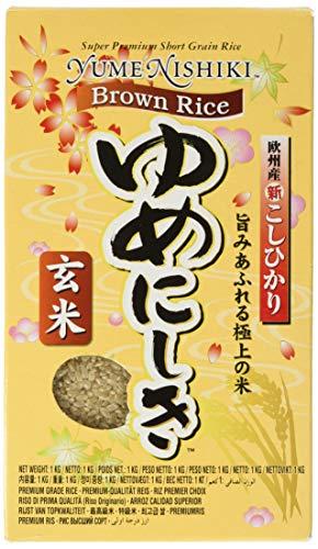 YUME NISHIKI JFC Brown Rice, 1 Pack (1 x...