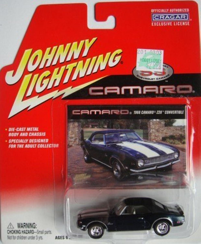 JOHNNY LIGHTNINGSUPER 1968 CAMARO Z28 CONgreenIBLE blueE by Playing Mantis