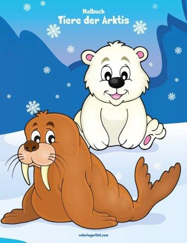 Malbuch - Tiere der Arktis 1
