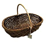 Nutley's Rustic Large Willow Vegetable Trug Basket