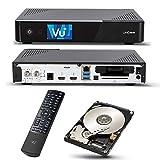 VU + Uno 4K se 1x DVB-S2fbc-10Twin Tuner 2TB HDD Linux Receptor UHD 2160p