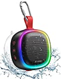 LENRUE F9 Altavoz Bluetooth (Negro)