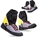 Waterproof Low Ankle Gaiters for Hiking - 2 PAIRS Leg Boots Cover Breathable Adjustable Packable Lightweight - Hiking Walking Cycling Hunting Mowing Fishing Backpacking Desert Camping Climbing