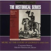 Music at the Court of Leopold I by CONCENTUS MUSICUS (2006-02-28)