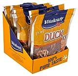 Vitakraft Fleischsnack für Hunde, Kausnack Entenfleischstreifen, DUCK XXL, 30461, 250 g - 4