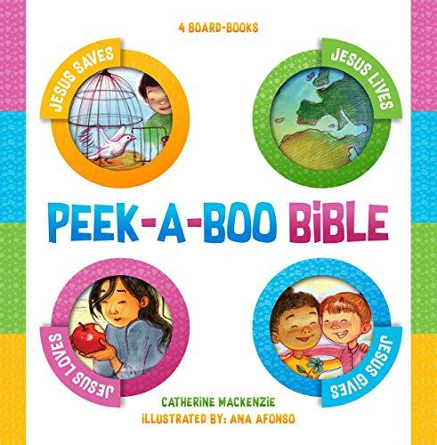 Peek–a–boo Bible: 4 Board–Books