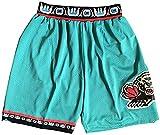Baloncesto Jess Mevis Grizzlies Pantalones Cortos De Baloncesto # 12 Ja Morant, Vintage Rubes Comfort Stoff (s-2xl), Retro Green - XXL