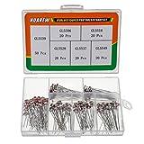HUAREW 6 Valori 150 pezzi Fotoresistenza GL5539 GL5506 GL5516 GL5528 GL5537 GL5549 Kit di classificazione