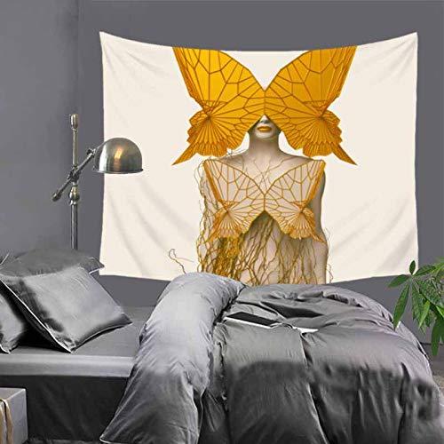 jtxqe Tapiz Decorativo Manta Moderna máquina de Tejer Simple Lavable impresión Digital 75x87cm
