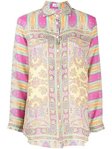 Etro Luxury Fashion Damen 1430043950700 Multicolour Viskose Hemd   Ss21