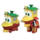 Rocco Juguetes 21737234–Robot Trains personajes (Duck or Sally), TNF, 10cm, modelos/colores aleatorios