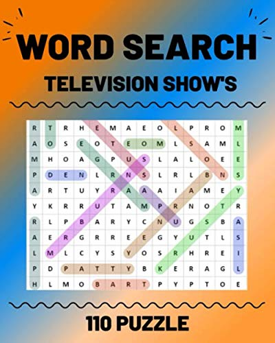 WORD SEARCH TELEVISION SHOW