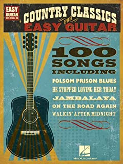 Country Classics for Easy Guitar: Easy Guitar with Notes & Tab (English Edition)