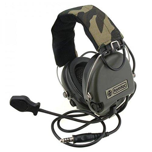 Tomtac Airsoft SORDIN Headset Mic Boom Radio MSA Design
