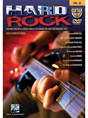 Guitar Play-Along DVD Volume 25: Hard Rock. Für Gitarre
