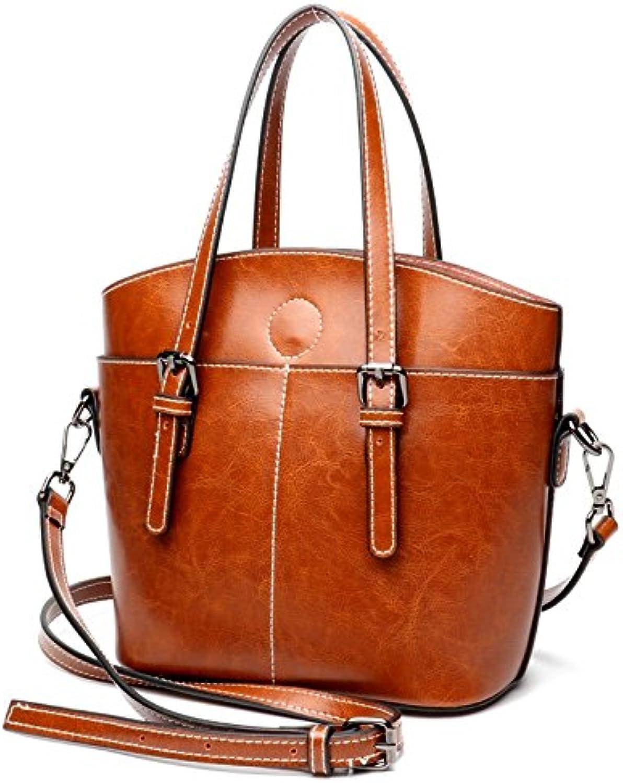 2018 Handtaschen Coole Mode Leder Handtaschen Weiblichen Rindsbeutel