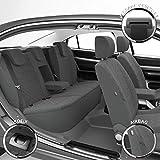DBS Coprisedili Auto/Vettura - su Misura - Rifinizioni Alta Gamma - Montaggio Rapido - Compatibile Airbag - Isofix - 1011723
