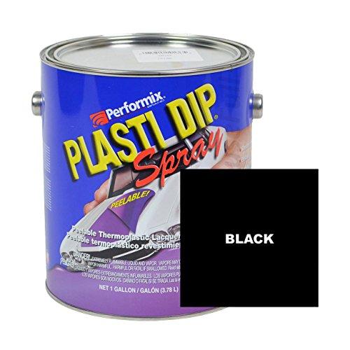 Plasti Dip Multi-purpose Rubber Coating Spray - Sprayable - One Gallon (128oz) - Black