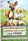 Serie Fimo nº 15. DIVERTIDOS ANIMALES MODELADOS PASO A PASO CON FIMO...