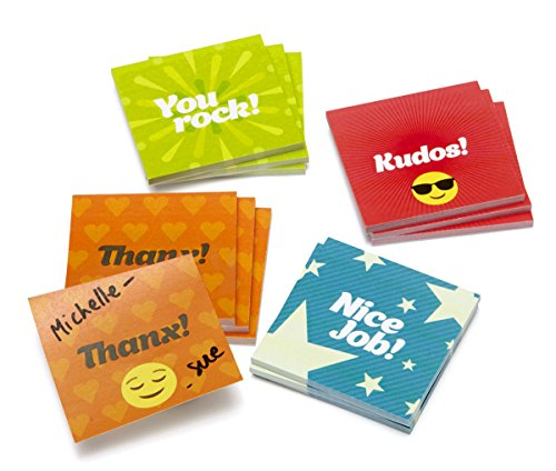 Mini Kudos Sticky Notes (Set of 12)