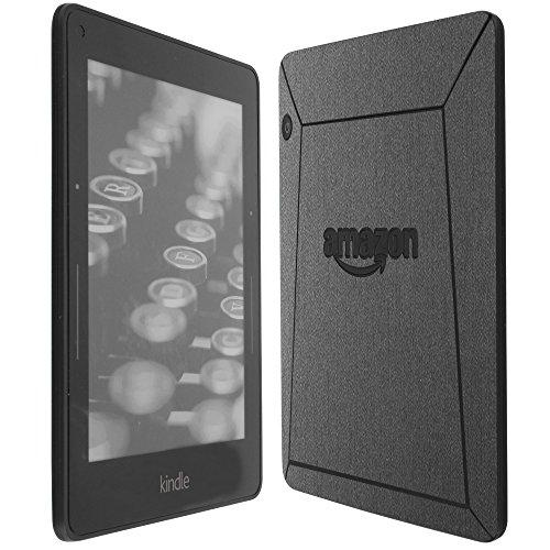 Skinomi Brushed Steel Full Body Skin Compatible with Amazon Kindle Voyage...