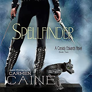 Spellfinder     A Cassidy Edwards Novel, Book 2              By:                                                                                                                                 Carmen Caine                               Narrated by:                                                                                                                                 Lynn Devereux                      Length: 8 hrs and 5 mins     106 ratings     Overall 4.4