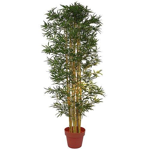 EUROPALMS 82509235 Bambus Multistamm, Kunstpflanze, 150cm