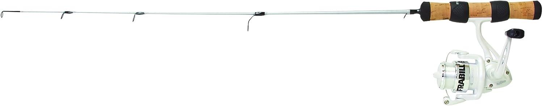Frabill Njord Spinning Reel Fishing Combo, Black, 22-Inch Ultra Light