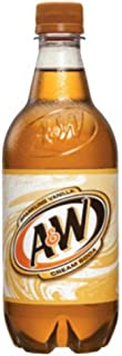 A&W Root Beer 20 Oz (24 Pack) (Cream Soda)