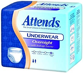 ATTENDS Absorbent Underwear Attends Pull On X-Large Disposable Heavy Absorbency (#APPNT40, Sold Per Case)