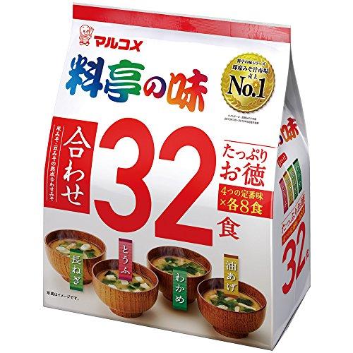 マルコメ たっぷりお徳料亭の味 32食