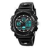 Kids Watch, Boys Sports Digital Waterproof Led Watches with Alarm Wrist Watches for Boy Girls Children Watch H
