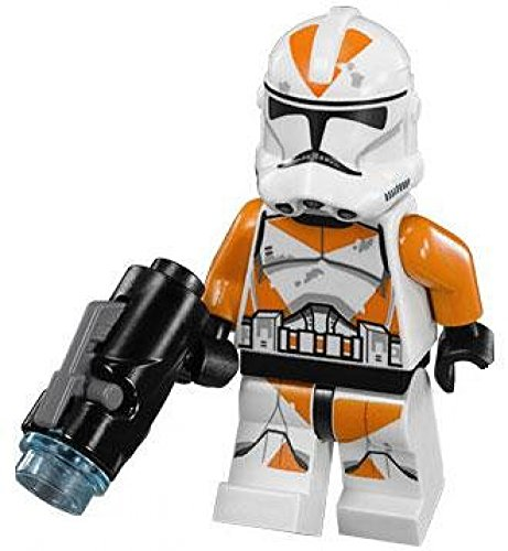 LEGO Star Wars LOOSE Minifigure Utapau 212th Batallón Clon Trooper con disparador