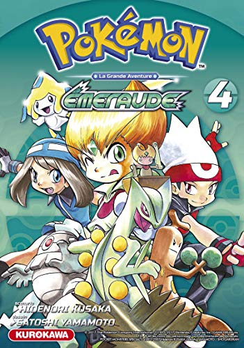 Pokémon Rouge Feu et Vert Feuille/Émeraude - tome 4 (4)