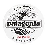 patagonia(パタゴニア) 日本支社 30周年 ステッカー 北斎 丸 クリア PATAGONIA JAPAN HOKUSAI WAVE シール