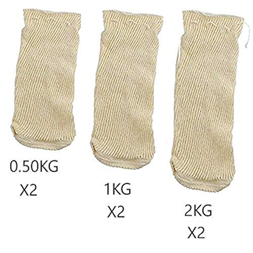 EUROXANTY® | Malla Cocción | Bolsa Legumbres | Pack 0.5 Kg (x2) - 1 Kg (x2) - 2 Kg (x2)