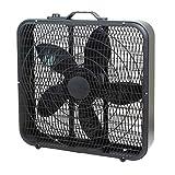 """Best Box Fans - Comfort Zone CZ200ABK 20"""" 3-Speed Box Fan Review"""
