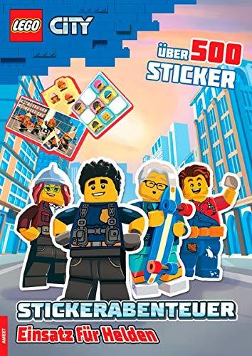 LEGO® City – Stickerabenteuer Einsatz für Helden