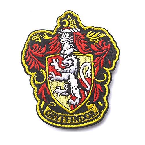 Ohrong Parche bordado de Harry Potter House of Gryffindor Crest Slythe
