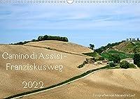 Camino di Assisi - FranziskuswegAT-Version (Wandkalender 2022 DIN A3 quer): Auf den Spuren des Franz von Assisi am Pilgerweg von Dovadola nach Rom (Monatskalender, 14 Seiten )