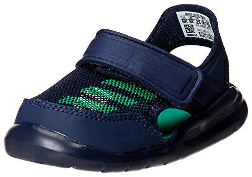 adidas Performance BA9375/BA9380 Forta Swim C Jungen Baby Badeschuh Mesh Klett, Groesse 20, dunkelblau