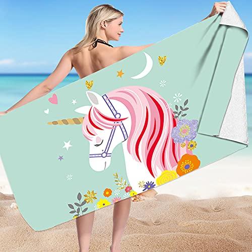 Serie De Impresión Digital De Dibujos Animados Toalla De Playa Toalla De Baño De Microfibra Absorbente De Secado Rápido Toalla De Surf Toalla De Baño para Piscina 75 * 150cm
