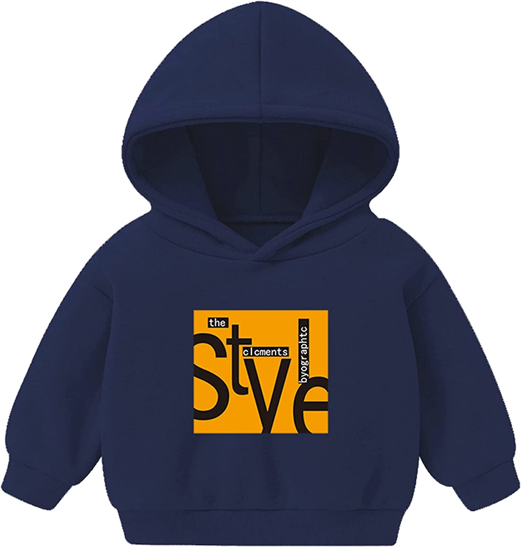 Sweatshirts for Girls 2-6 Crop Top, Oversized Aesthetic 3D Printed Cotton Hoodies Pullover Boys Fashion Hoodies & Sweatshirts