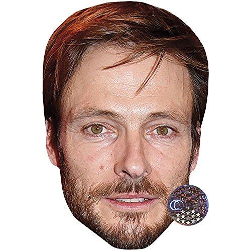 Celebrity Cutouts Andreas Pietschmann Maske aus Karton