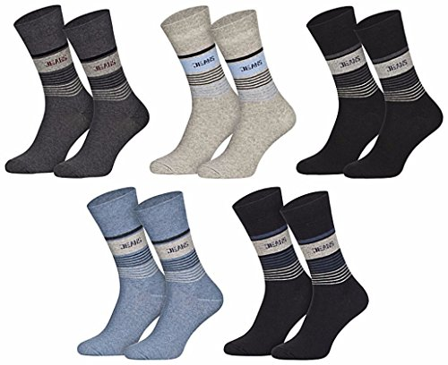 Star Socks Germany 5 Paar moderne Jeanssocken Herrensocken 39-42