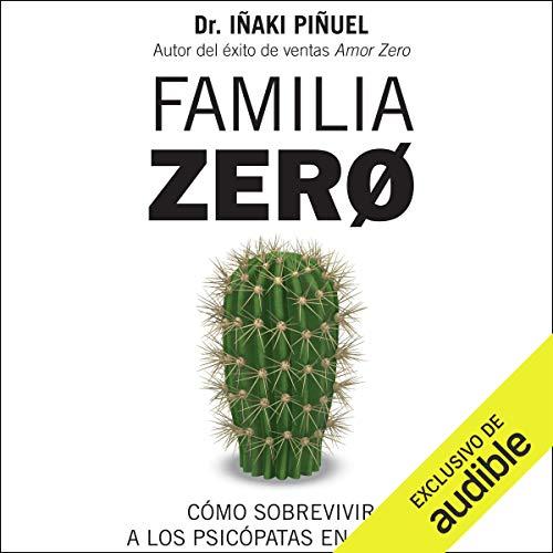 Diseño de la portada del título Familia Zero