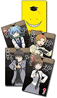 Assassination Classroom Playing Cards