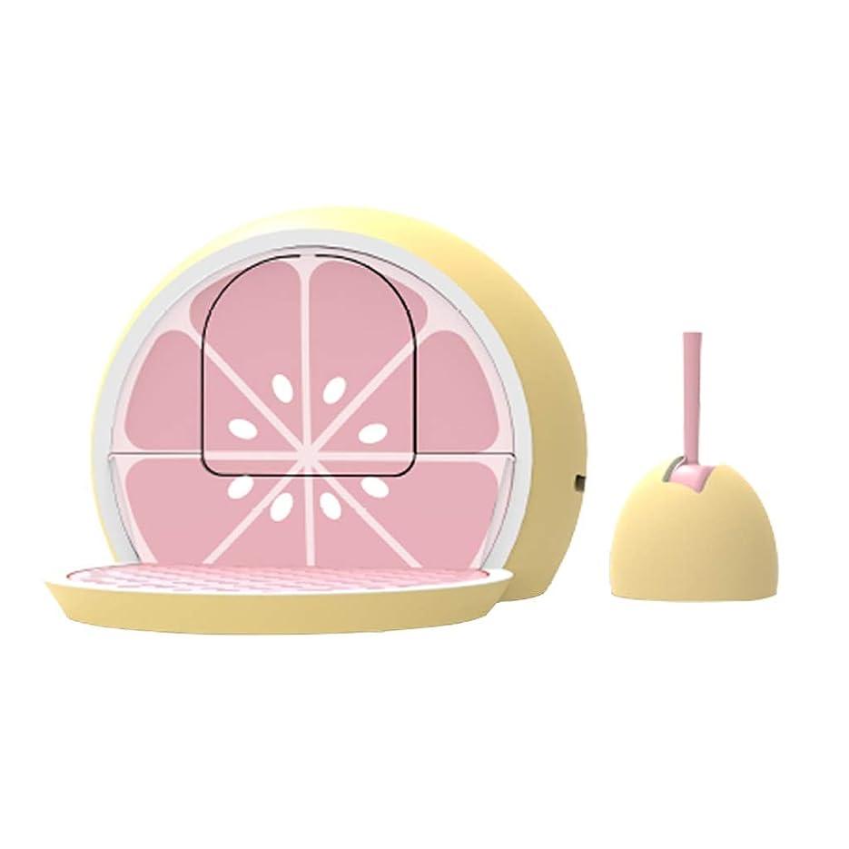 民主党今のれんLT 蓋付きの猫のトイレボックスアンチスプラッシュふるいにかけるペダルペットトイレ、引き出しデザイン簡単にきれいな、無料シャベル (Color : Grapefruit)