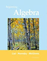 Beginning Algebra, 11th Edition Front Cover